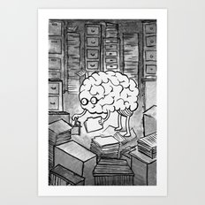 Thoughts Art Print