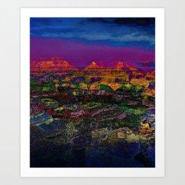 Spectacular Canyon Art Print