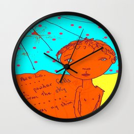 Itch in Colour Wall Clock