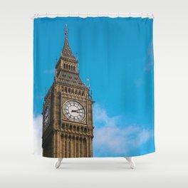 Bing Ben 3:11 Shower Curtain