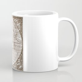 America Map 1587 Coffee Mug