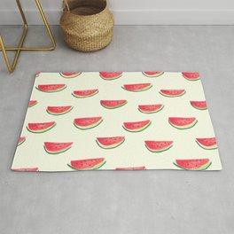 Watercolor Watermelon Rug