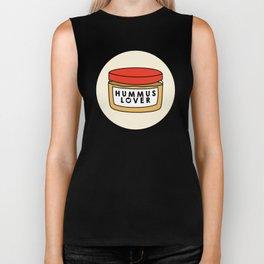 Hummus Lover Biker Tank