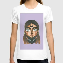 Witch and cat 1 T-shirt