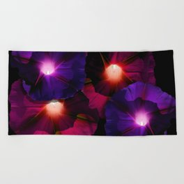 Morning Glory I Beach Towel
