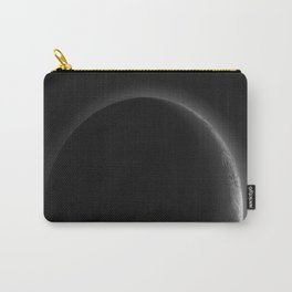 Crescent Pluto in the New Horizon in the Night Carry-All Pouch