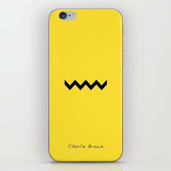 Charile Brown iPhone & iPod Skin