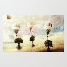 tree - air baloon Rug
