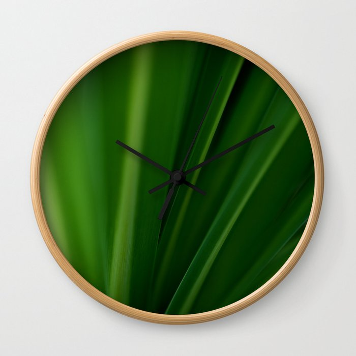 The Lushest Green of Life Wall Clock