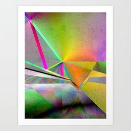 A look through the window Art Print