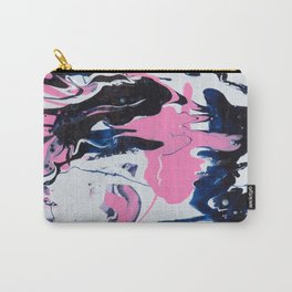 Pink & Blue Abstract Carry-All Pouch
