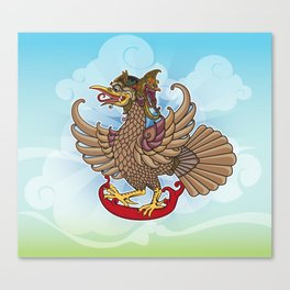 'Jatayu' or Eagle on the story of the Ramayana Canvas Print