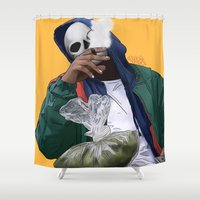 oz Shower Curtains featuring Oz by ArtPharaoh
