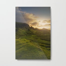 Mesmerized By the Quiraing VI Metal Print