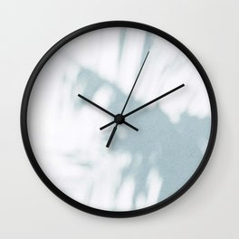 palm shadow Wall Clock