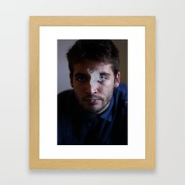 Dario Framed Art Print