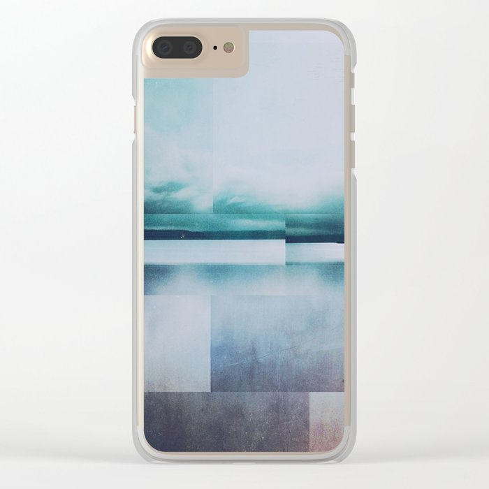 Fractions A92 Clear iPhone Case