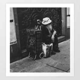 PHOTOGRAPHY  - Waiting for Godot Art Print