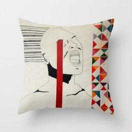 loudcolors Throw Pillow