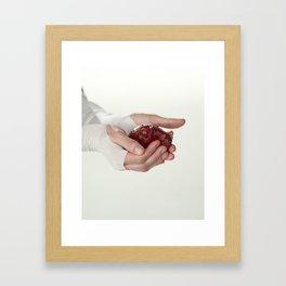 The Killing Type #3 (amanda palmer & the grand theft orchestra) Framed Art Print
