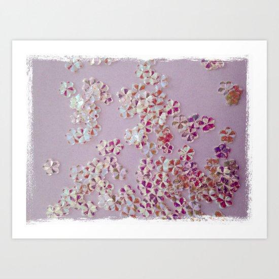 Furta-cor Art Print