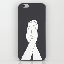 Never Let Me Go III iPhone Skin
