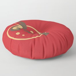 Molotov Cocktail Floor Pillow