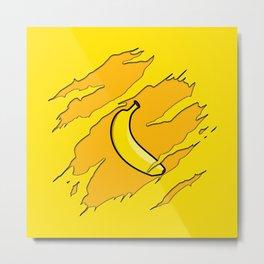 The Yellow Banana Metal Print