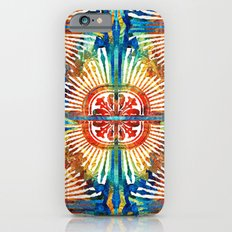 Pattern Art - Color Fusion Design 2 By Sharon Cummings Slim Case iPhone 6s