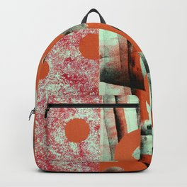 Orange Circles Backpack
