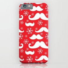 Mustaches and Snowflakes Slim Case iPhone 6s