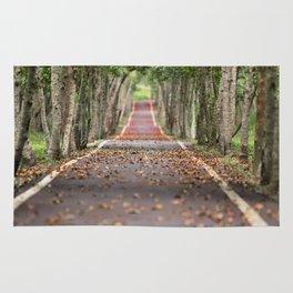 wood le chemin Rug