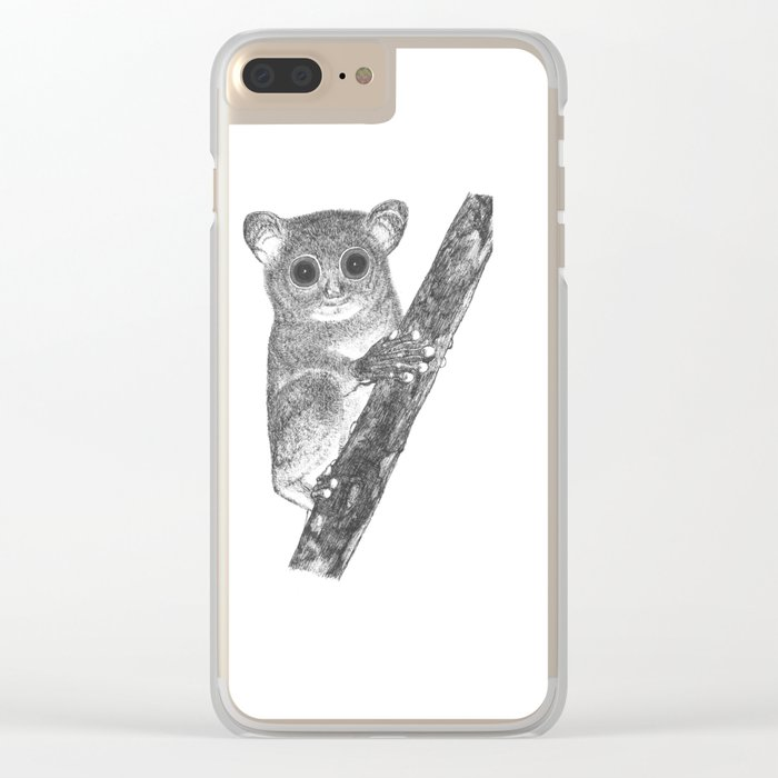 Tarsiers Clear iPhone Case