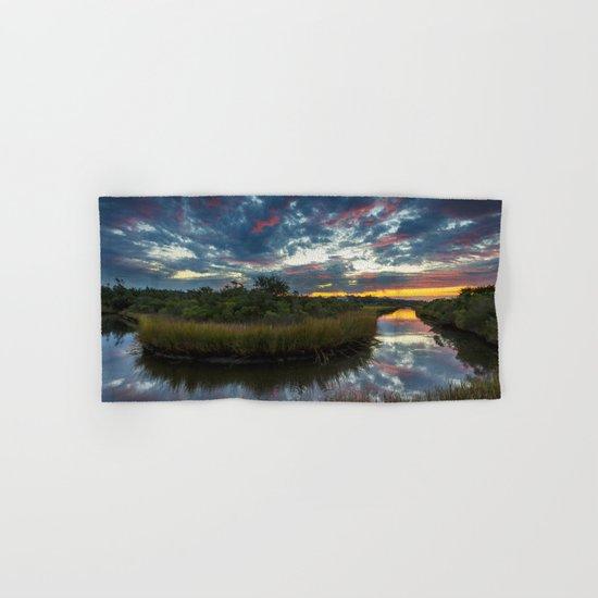 Mississippi Coastal Sunrise Hand & Bath Towel