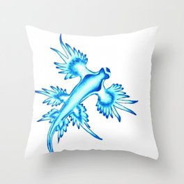 Glaucus Atlanticus Throw Pillow