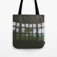 window Tote Bags featuring Window by Aaron Carberry