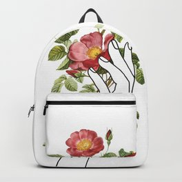 Flower in the Hand II Backpack