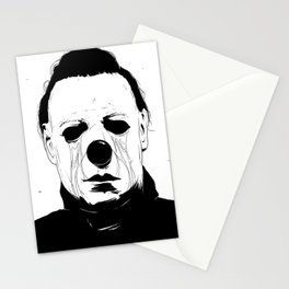 Myers, The Clown Stationery Cards