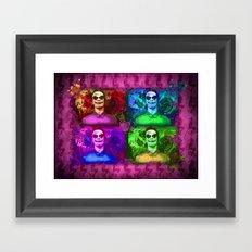 Michael Fassbender...Joker style! Framed Art Print
