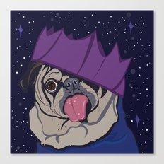 Josie The Pug Canvas Print