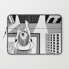The End of the Story Laptop Sleeve