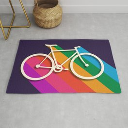 Let's go for a ride - bike no2 Rug