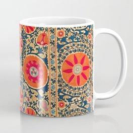 Kermina Suzani Uzbekistan Print Coffee Mug