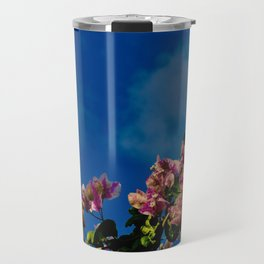 Bougainvillea  the plant is considered a symbol of peace Travel Mug
