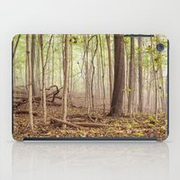indiana iPad Cases featuring Indiana woods by Bonnie Jakobsen-Martin