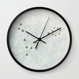 Pisces x Astrology x Zodiac Wall Clock