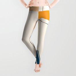 Cute Handle #illustration #minimal Leggings