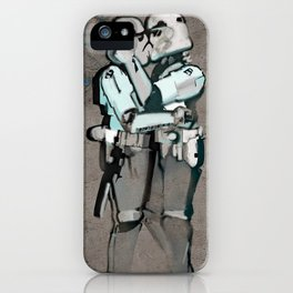 kissing clones iPhone Case