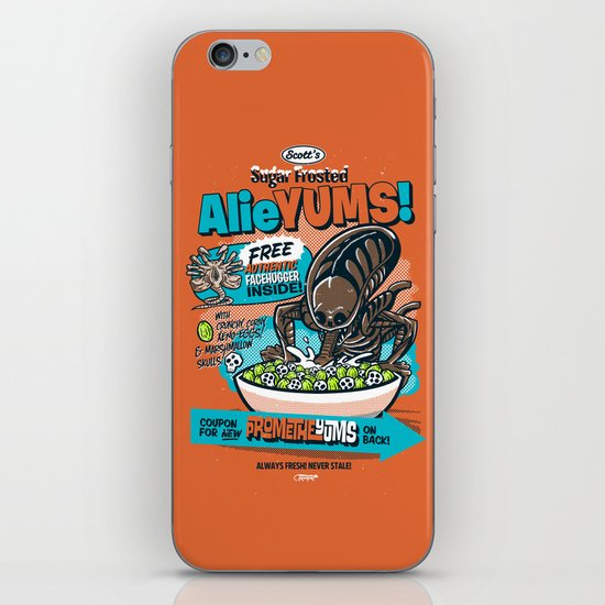 AlieYUMS! (orange variant) iPhone & iPod Skin
