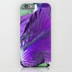 purple iris iPhone 6s Slim Case